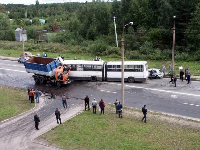 автомобиль авария