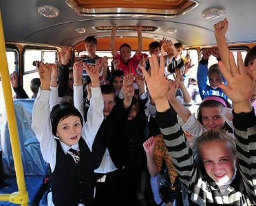 Уведомление об организованной перевозке детей автобусом образец заполнения